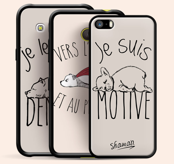 Coque Iphone  Drole